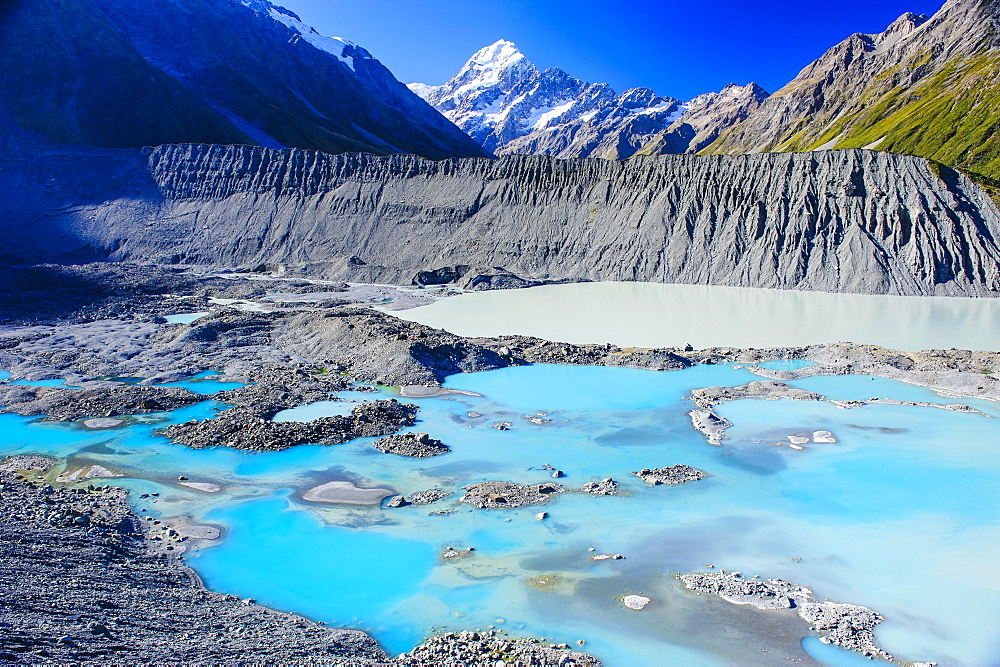 Mount Cook National Park, UNESCO World Heritage Site, South Island, New Zealand, Pacific