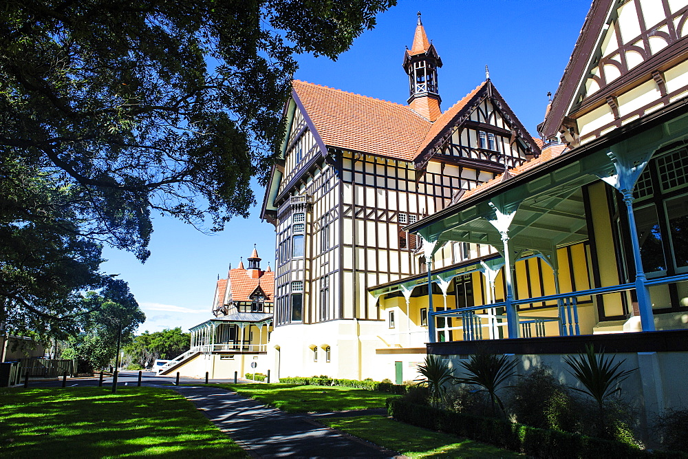 Rotorua Museum of Art and History, Rotorua, North Island, New Zealand, Pacific - 816-6710