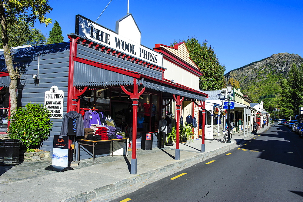 Historical house in Arrowtown, Otago, South Island, New Zealand, Pacific - 816-6743