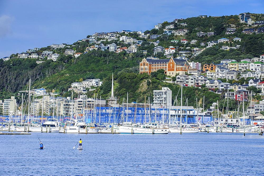 Lambton harbour, Wellington, North Island, New Zealand, Pacific