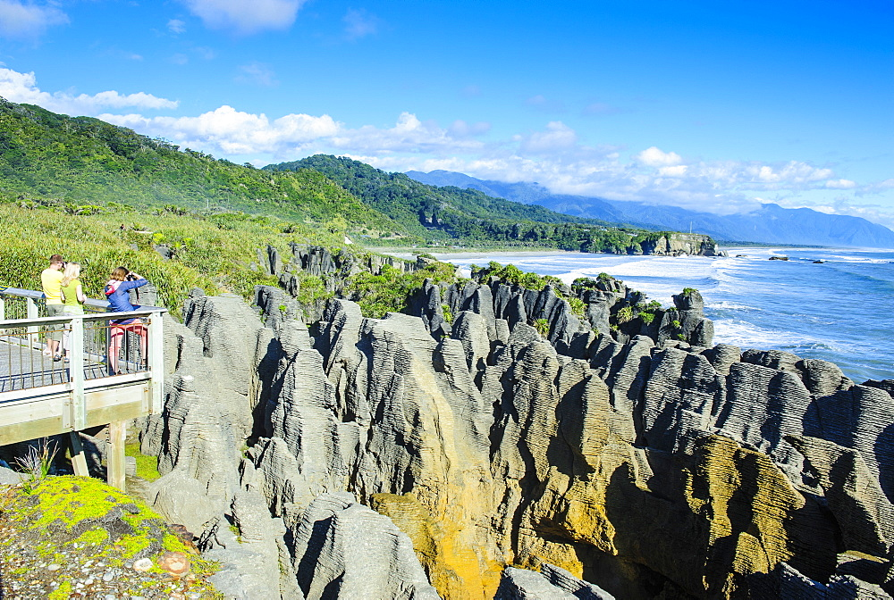 Pancake Rocks, Paparoa National Park, West Coast, South Island, New Zealand, Pacific