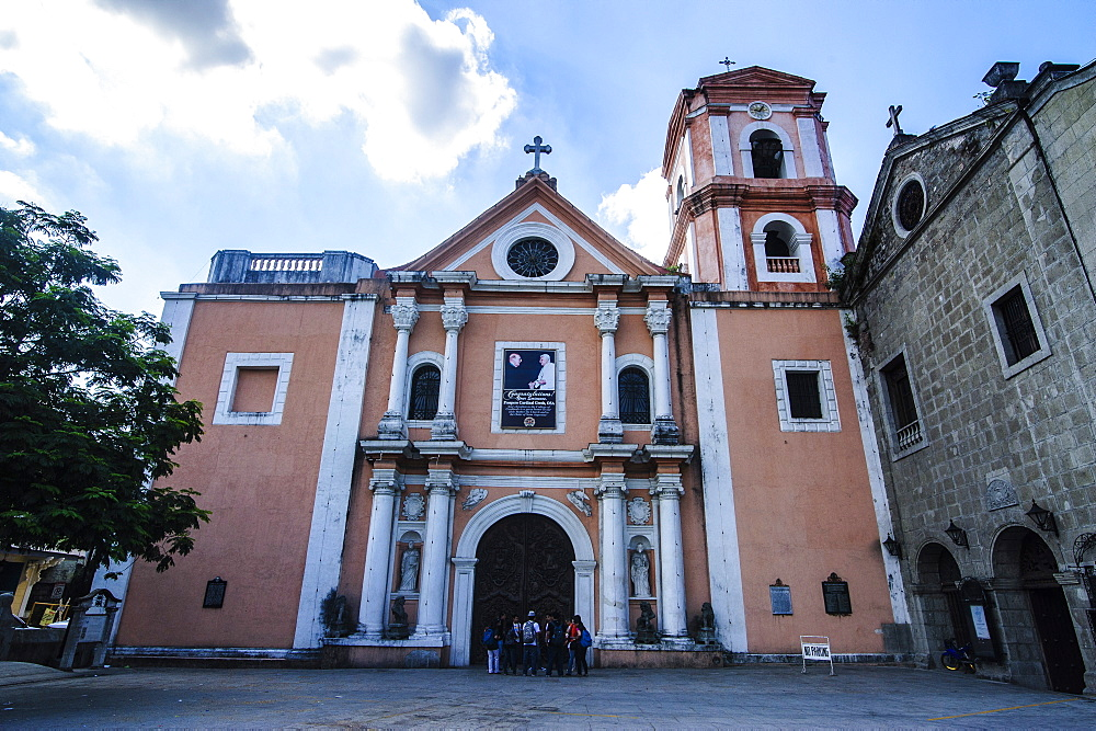 Entrance gate of the San Augustin Church, Intramuros, Manila, Luzon, Philippines, Southeast Asia, Asia