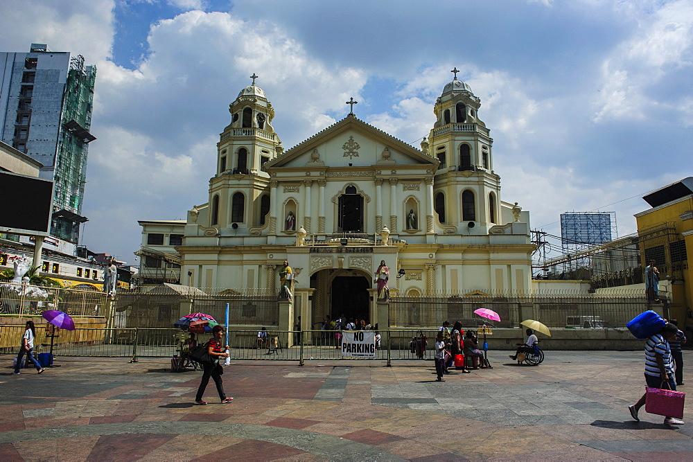 Quiapo church with the Black Nazarene, Manila, Luzon, Philippines, Southeast Asia, Asia