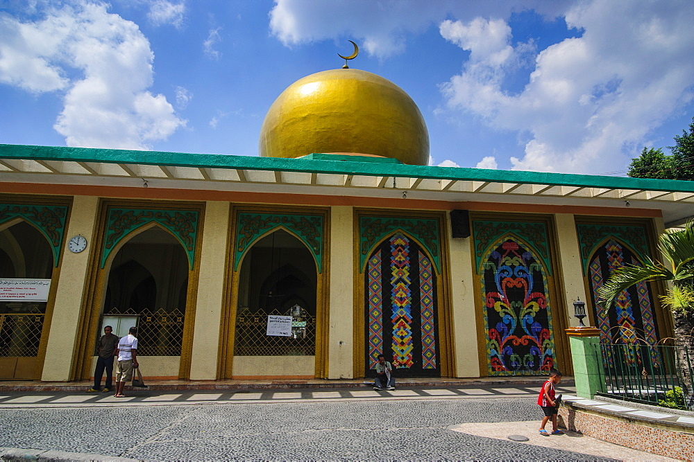 Golden Mosque, Manila, Luzon, Philippines, Southeast Asia, Asia