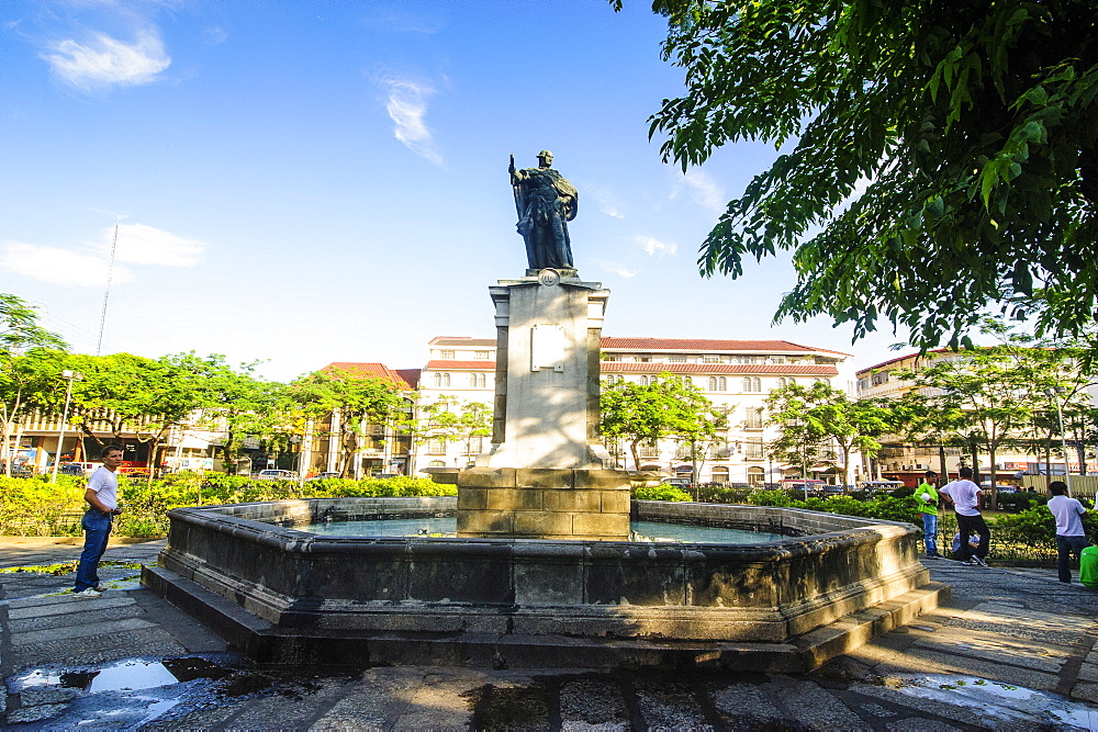 King Charles IV Monument, Intramuros, Manila, Luzon, Philippines, Southeast Asia, Asia