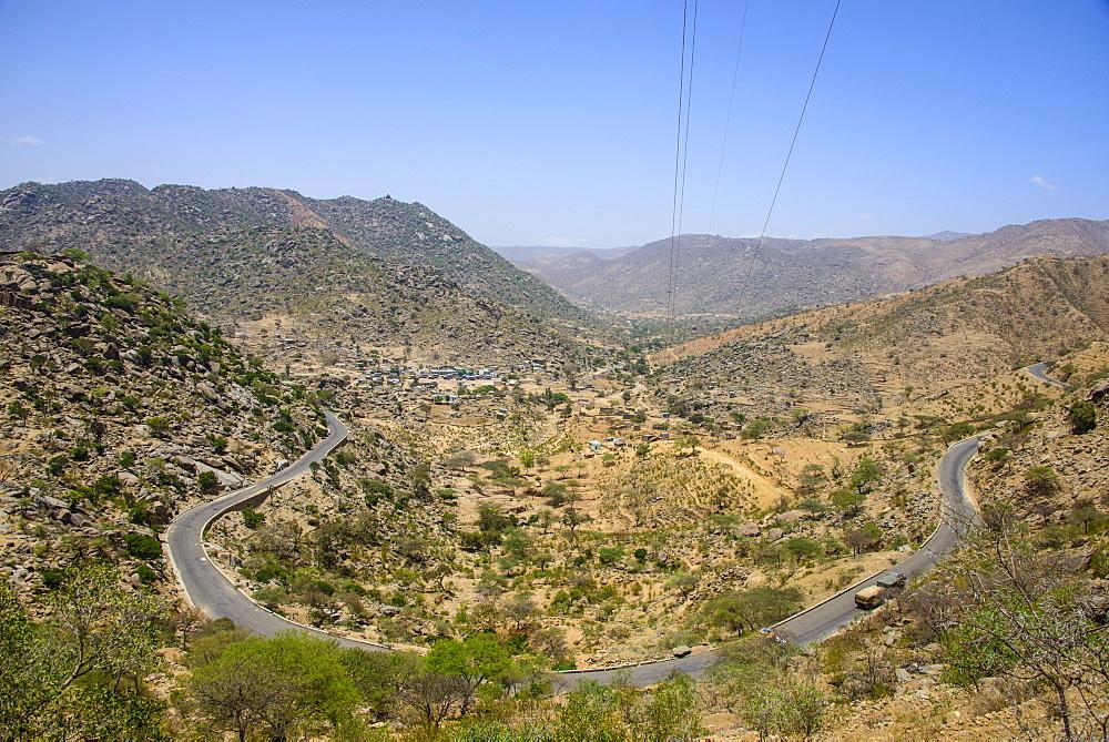 The highlands of Eritrea near Keren, Eritrea, Africa