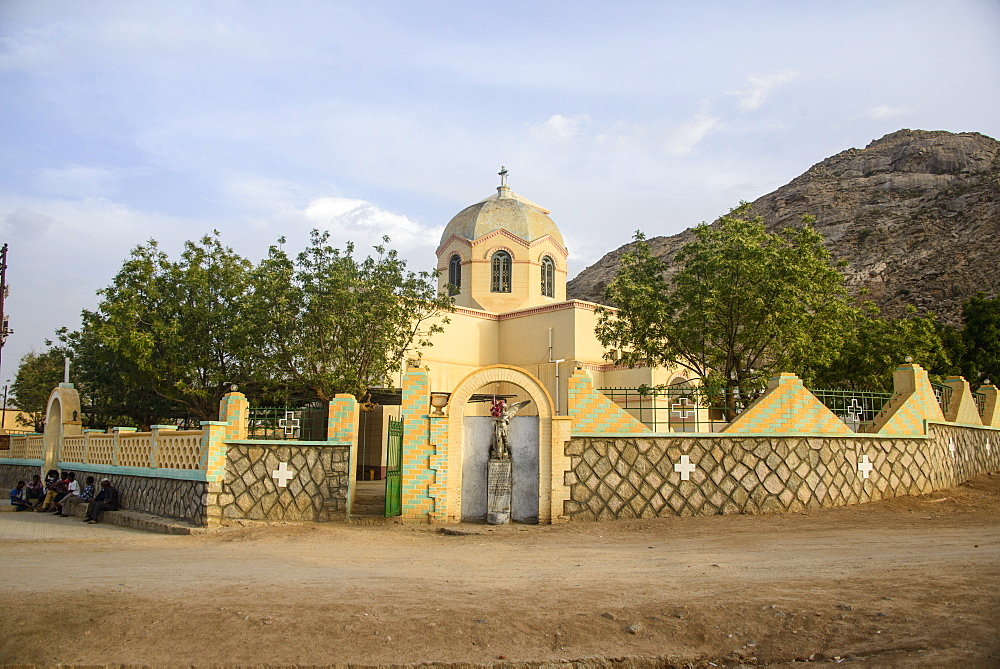 St. Michael Catholic Church, Keren, Eritrea, Africa