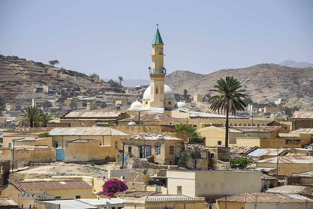 View over the town of Keren, Eritrea, Africa