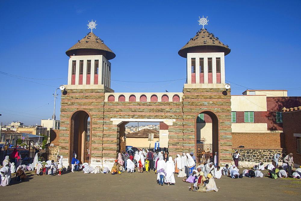 Coptic Cathedral of St. Mariam, Asmara, Eritrea, Africa