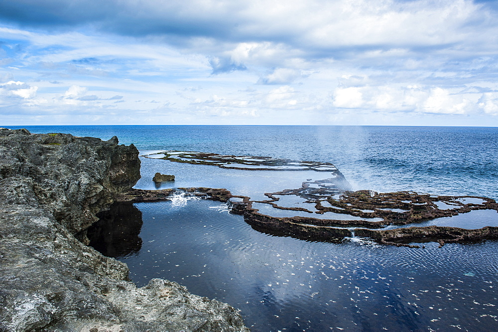 Mapu'a 'a Vaea Blowholes, Tongatapu, Tonga, South Pacific, Pacific