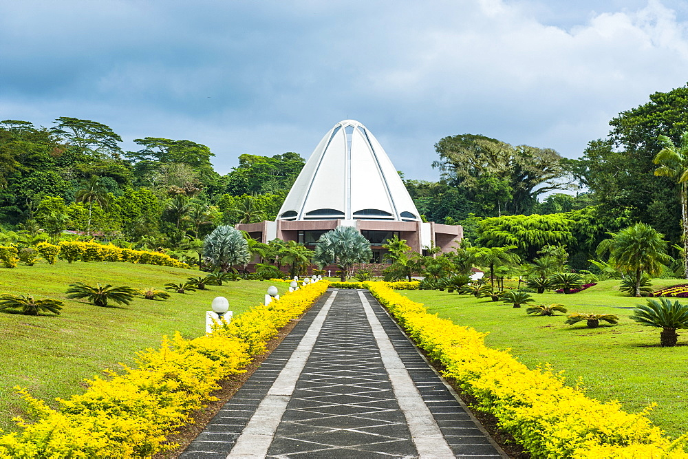 The Bahai House of Worship Samoa, Upolu, Samoa, South Pacific, Pacific