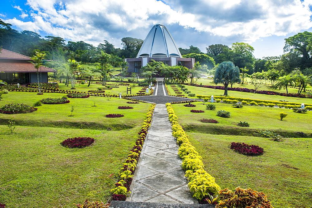 The Bahai House of Worship Samoa, Upolu, British Samoa, South Pacific, Pacific
