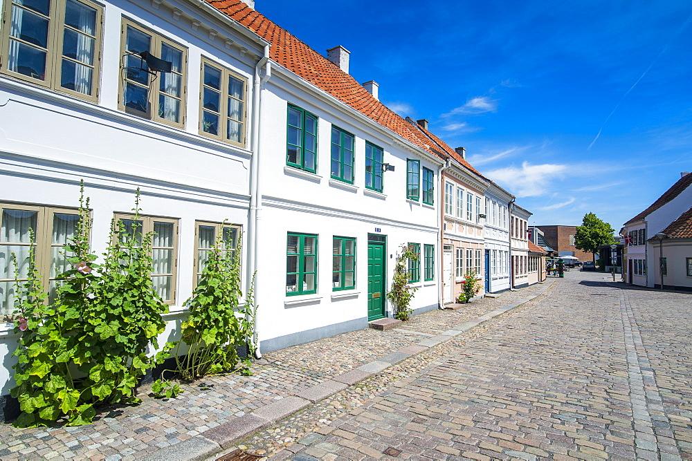 Old precinct of Odense, Funen, Denmark, Scandinavia, Europe