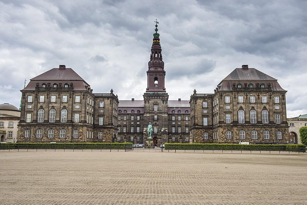 Christiansborg Castle seat of the Danish parliament, Copenhagen, Denmark, Scandinavia, Europe