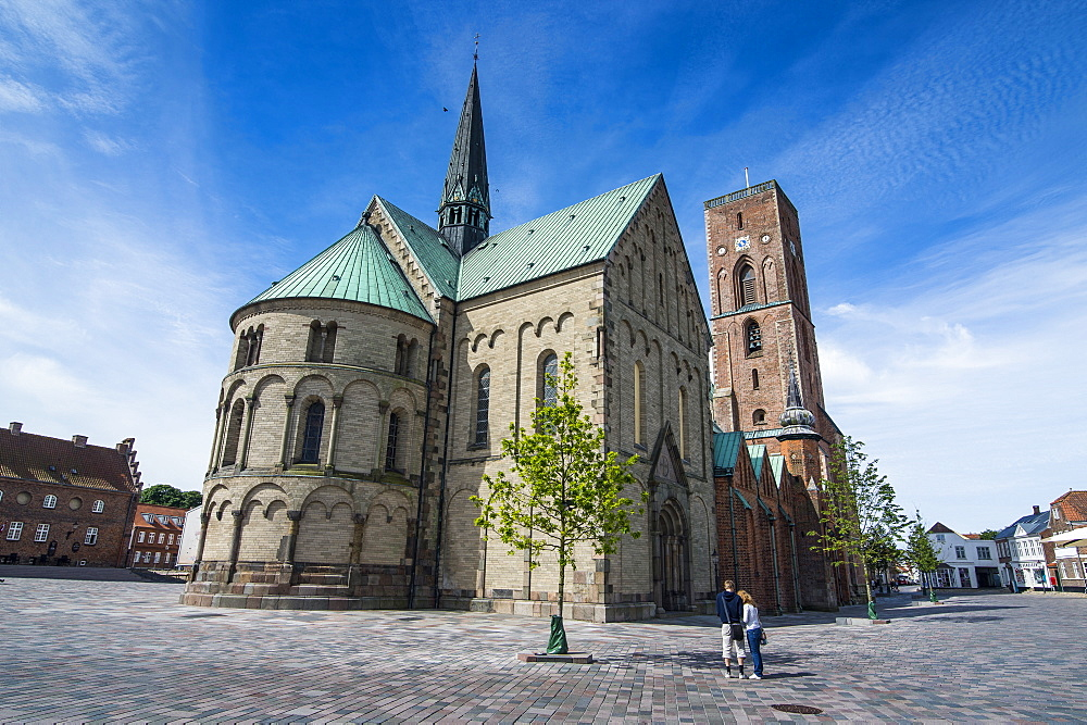 Our Lady Maria Cathedral, Ribe, Denmark's oldest surviving city, Jutland, Denmark, Scandinavia, Europe