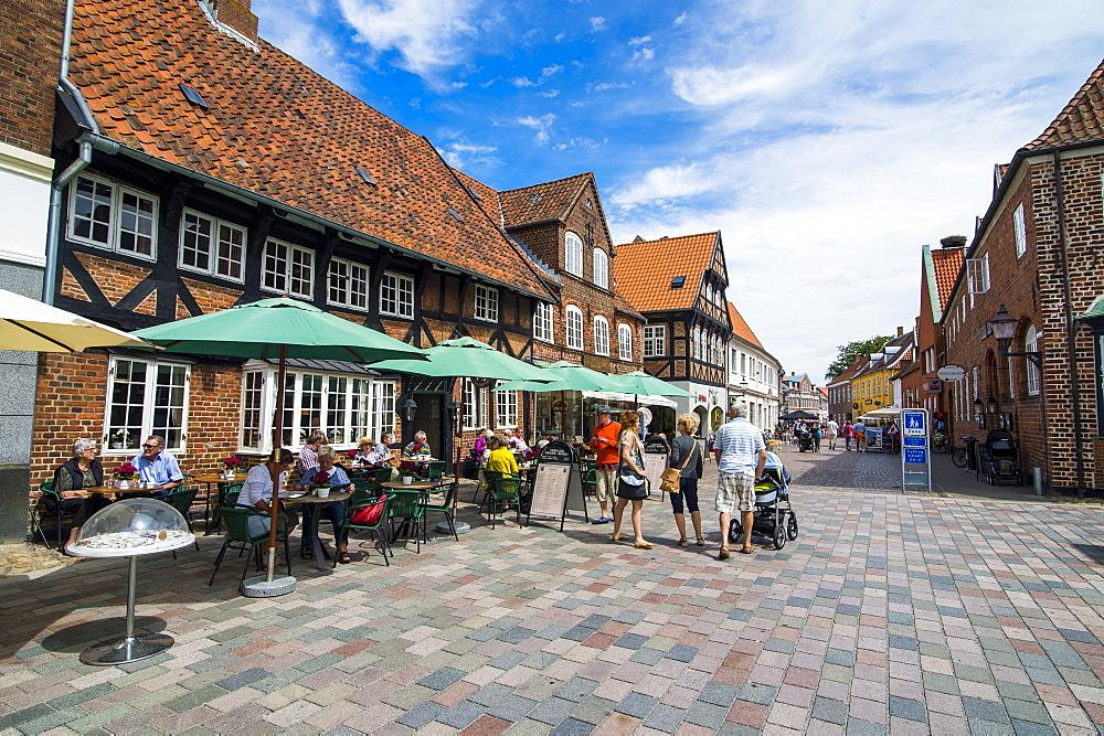 Ribe, Denmark's oldest surviving city, Jutland, Denmark, Scandinavia, Europe