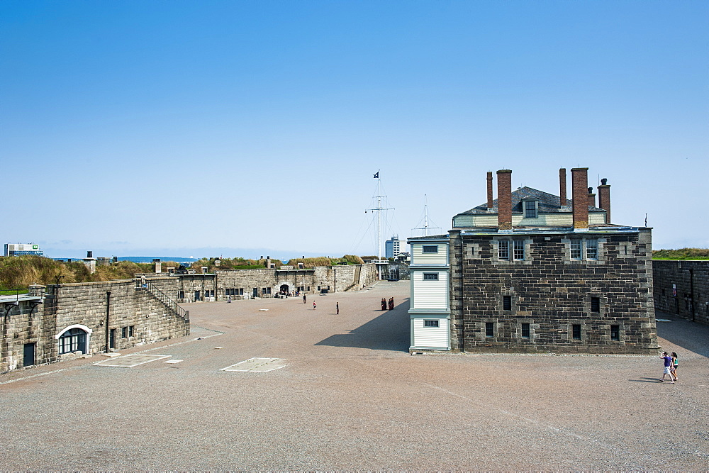 Fort George, Citadel Hill, a National Historic Site, Halifax, Nova Scotia, Canada, North America