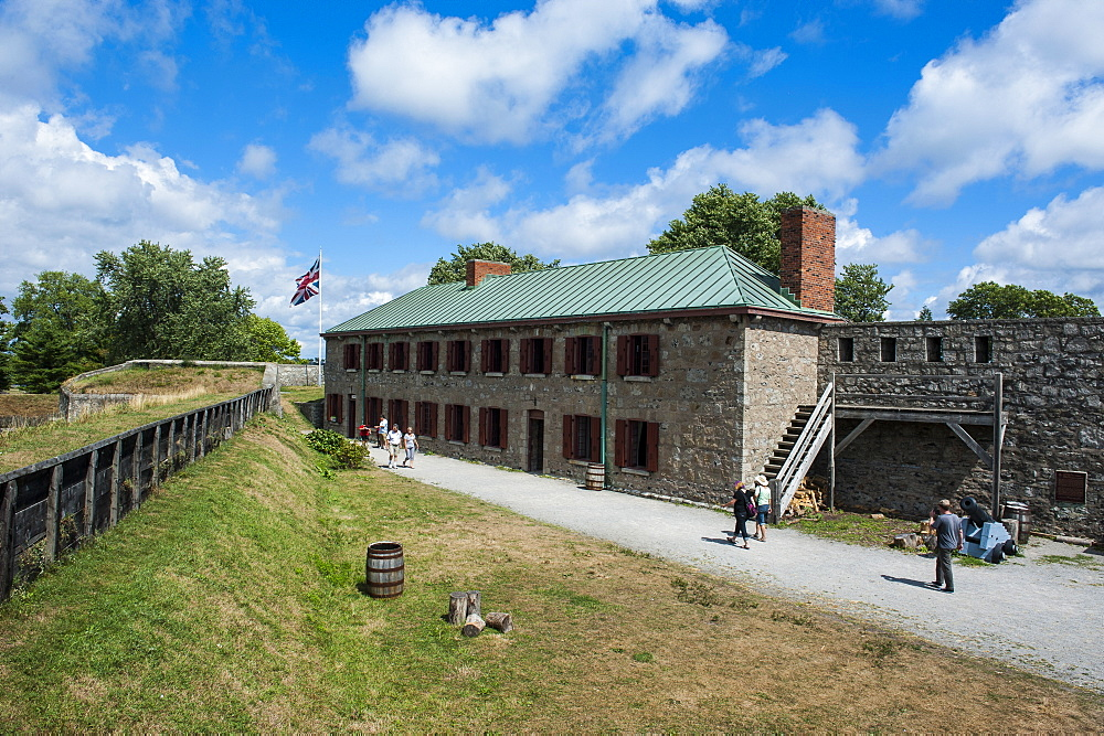 Old Fort Erie on the Niagara River, Ontario, Canada, North America