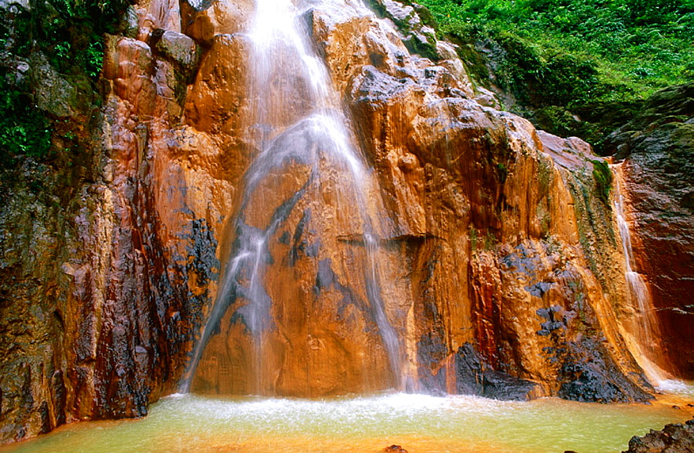 Carbet Falls, Basse Terre, Guadeloupe, West Indies (FR)