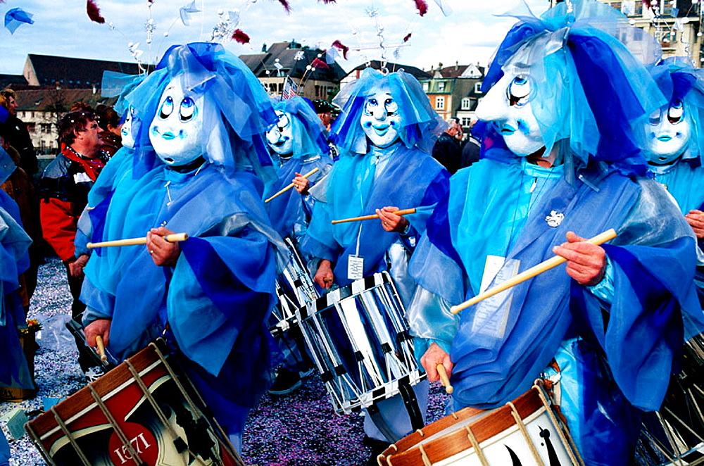 Traditional carnival, Basel, Switzerland