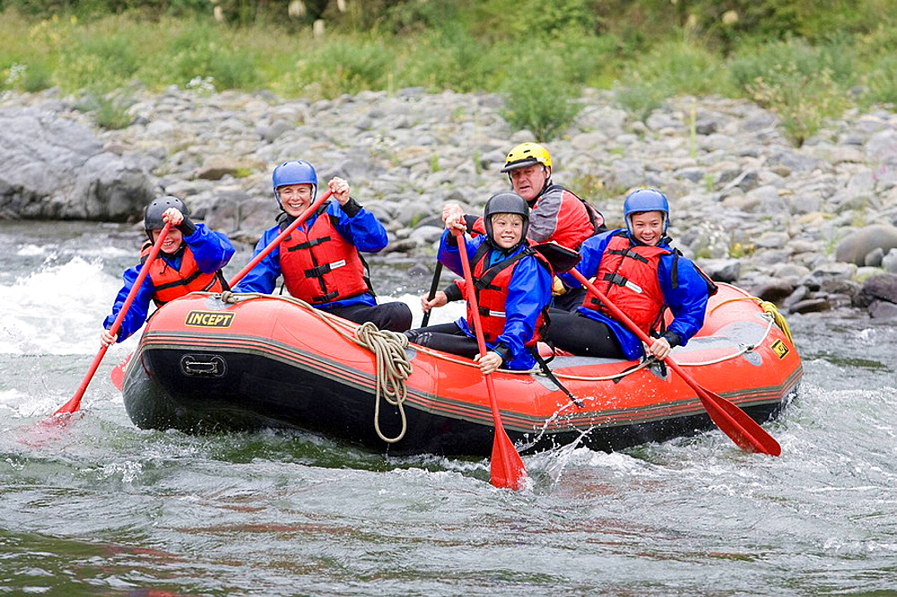 White Water Rafting, Mohaka River, North Island, New Zealand