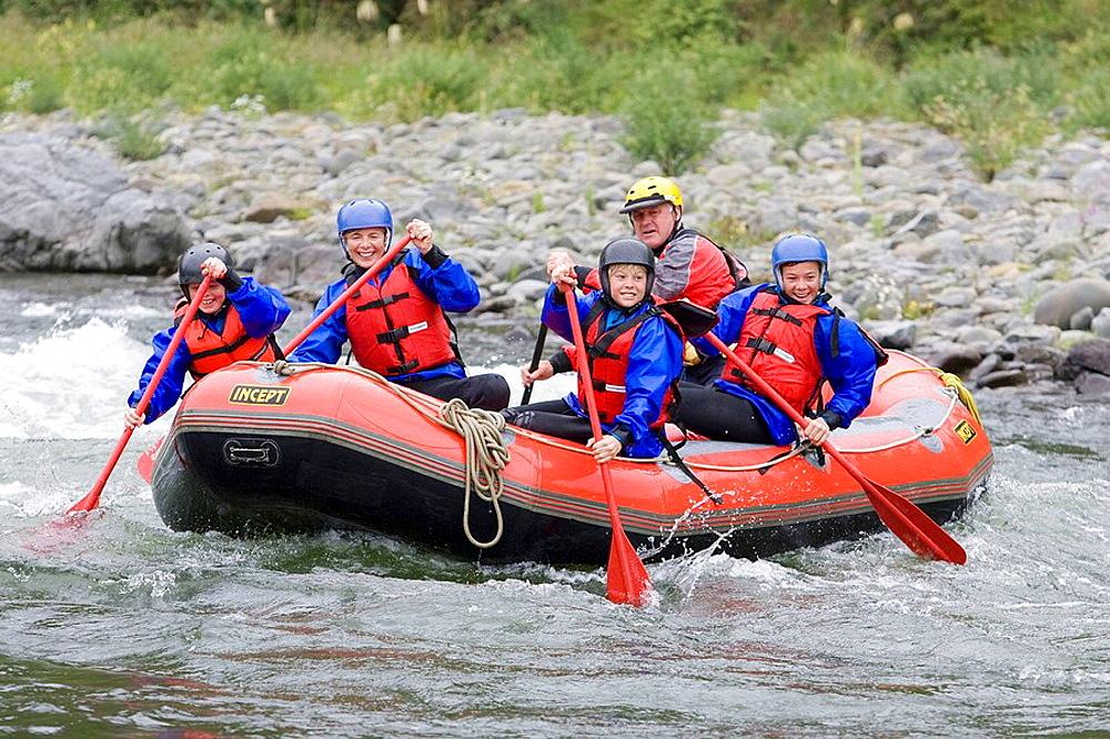 White Water Rafting, Mohaka River, North Island, New Zealand