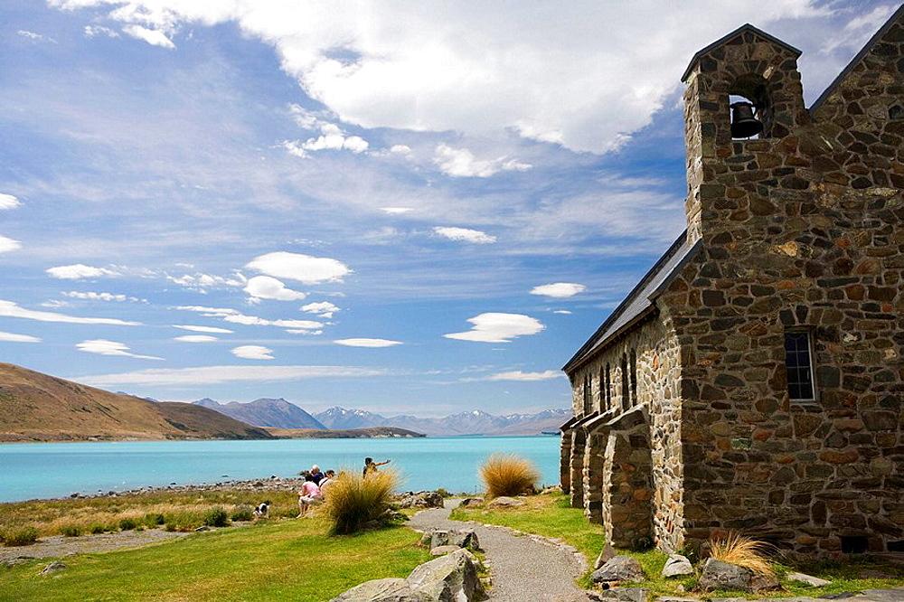 Church of the Good Shepard, Lake Tekapo, South Island, New Zealand