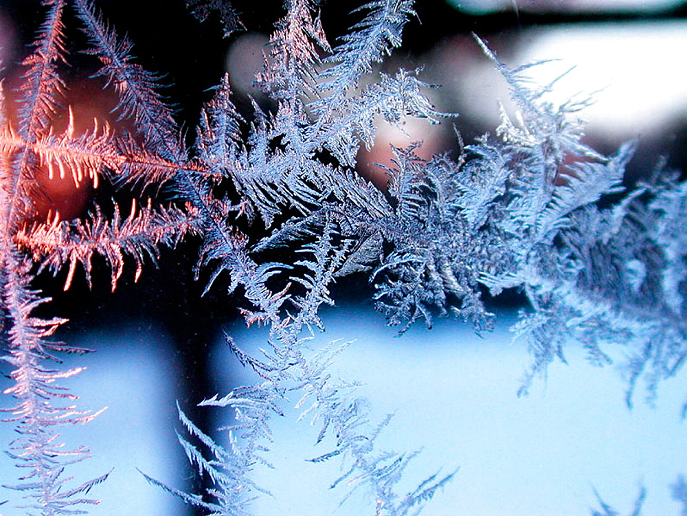 Ice crystals forming on inside - 817-105903