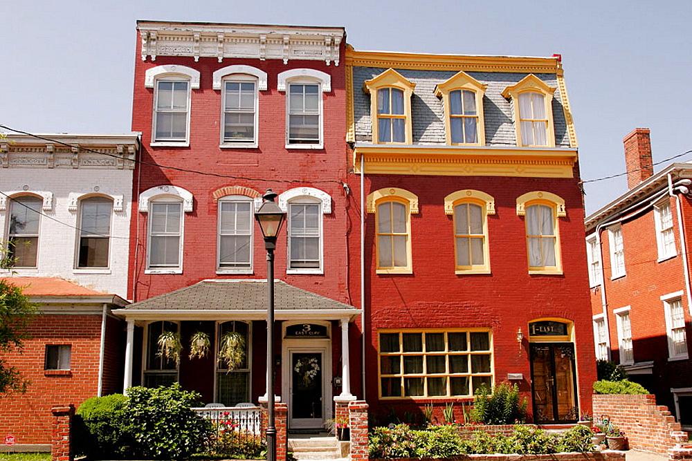 Virginia, Richmond, Jackson Ward, East Clay Street, African American community, architecture,