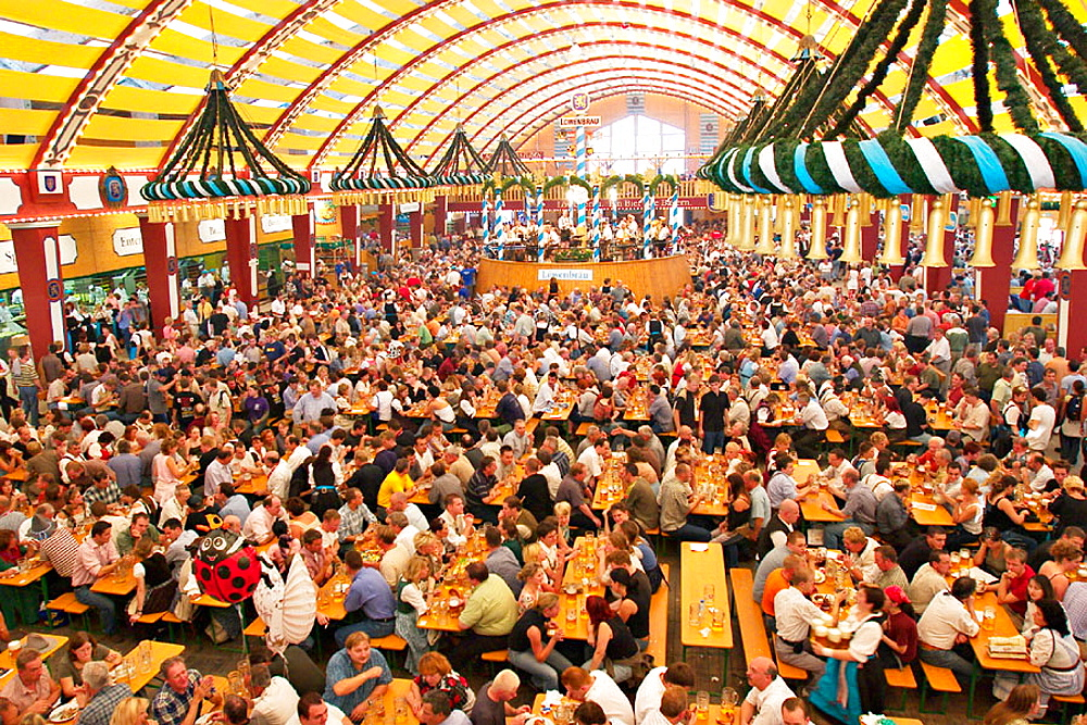 Munich October Festival, Lowenbrau beer tent