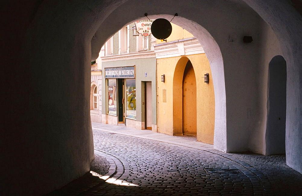 Old town, Passau, Bavaria, Germany