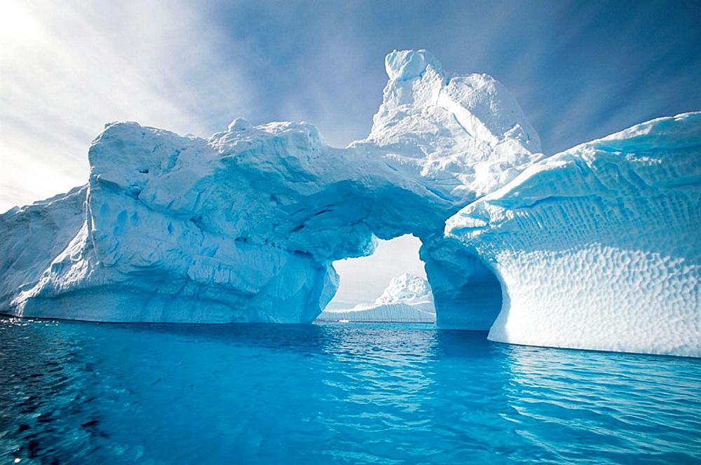 Iceberg in Andvord Bay, Antartica