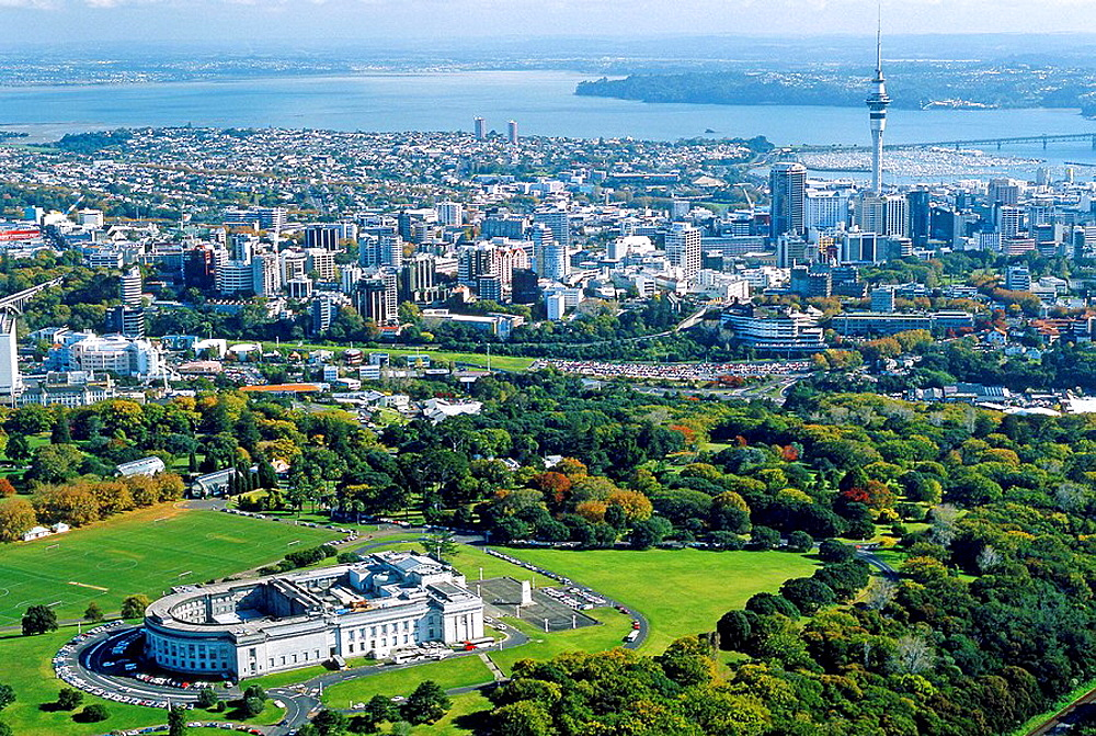 Auckland Domain and Museum New Zealand