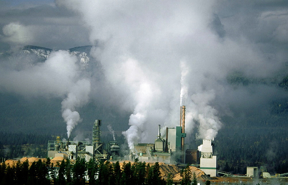Air pollution from Skookumchuck Pulp Mill, British Columbia, Canada - 817-118966