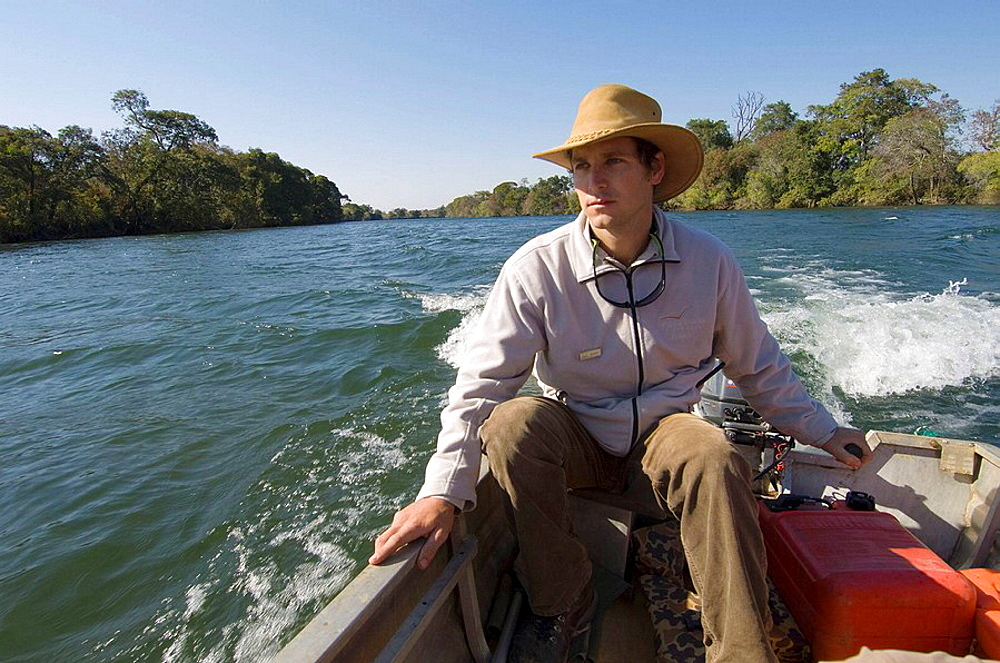 Murray McCallum, Lunga River Lodge manager, Kafue National Park, Zambia