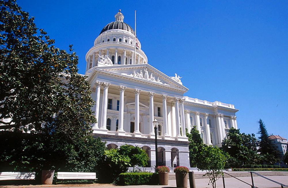 State Capitol building, Sacramento, California, USA