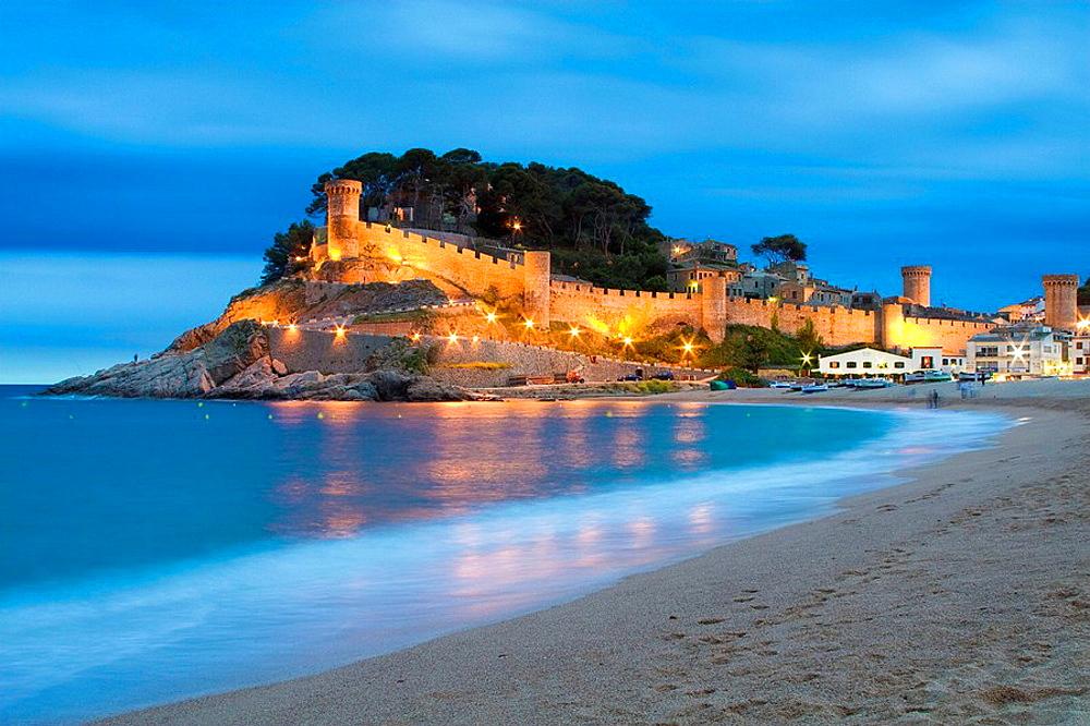 Tossa de Mar, Costa Brava, La Selva, Girona province, Catalonia, Spain