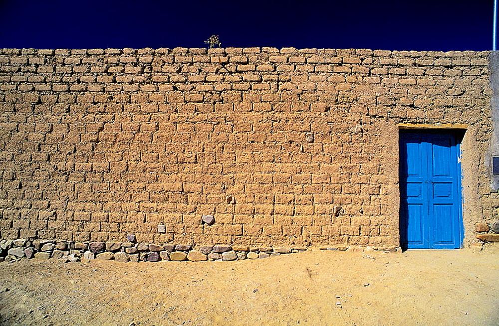 Adobe house, Yavi, Jujuy province, Argentina