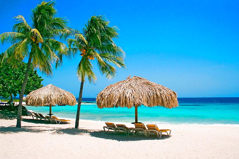 Piscadera Bay Beach, Curacao, Netherlands Antilles