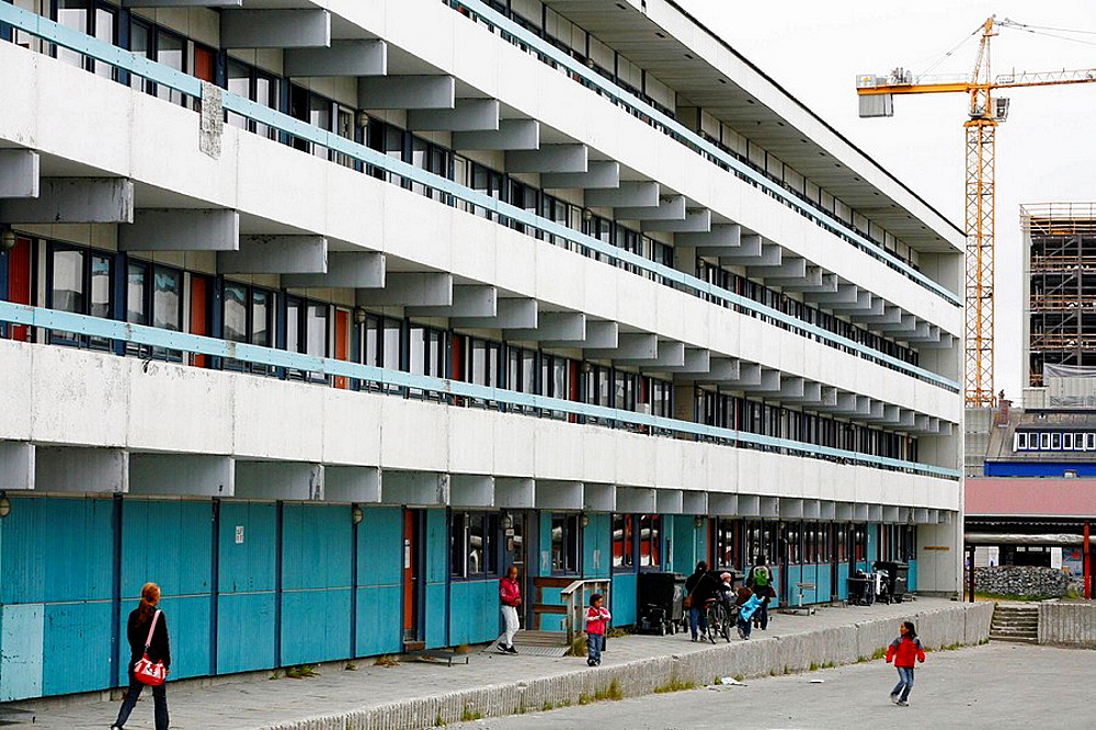 appartment complex in Nuuk, Greenalnd