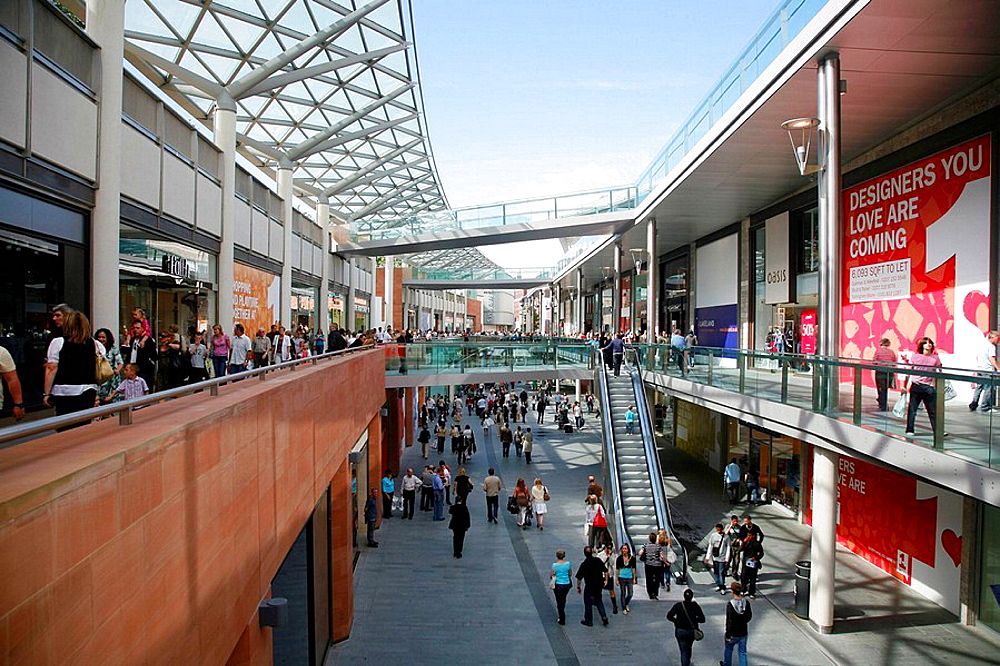 Liverpool One shopping mall complex, Liverpool, England, UK