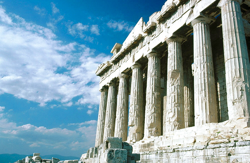 Parthenon in the Acropolis, Athens, Greece