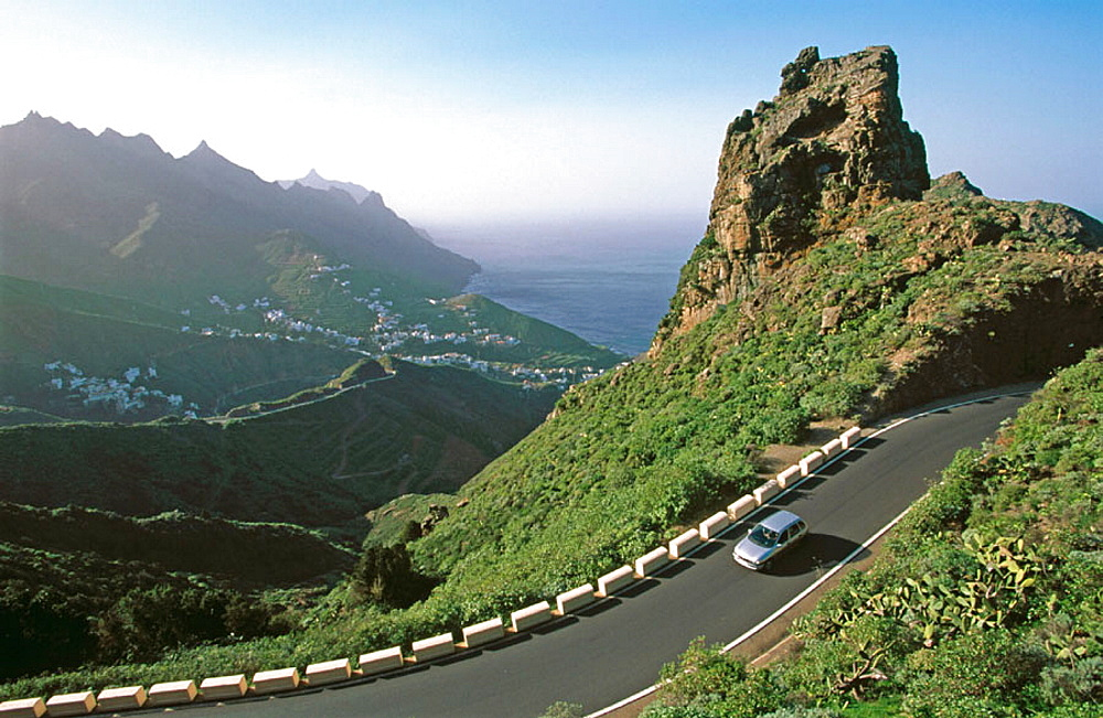 Road to Taganana, Tenerife, Canary Islands, Spain - 817-132373