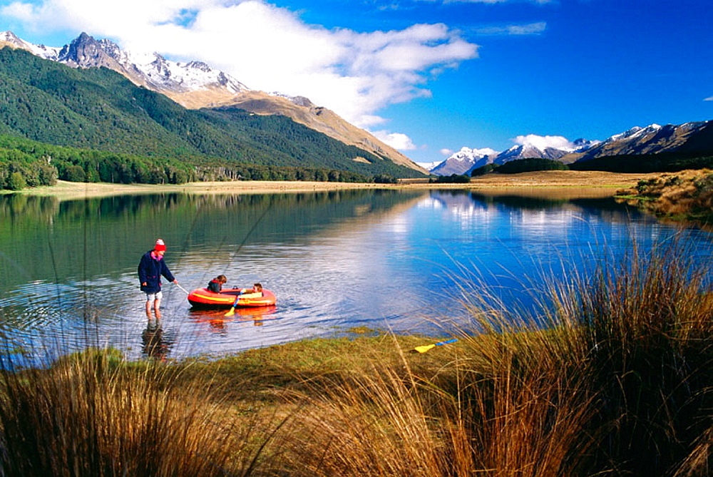 Mavora Lake, South Island, New Zealand