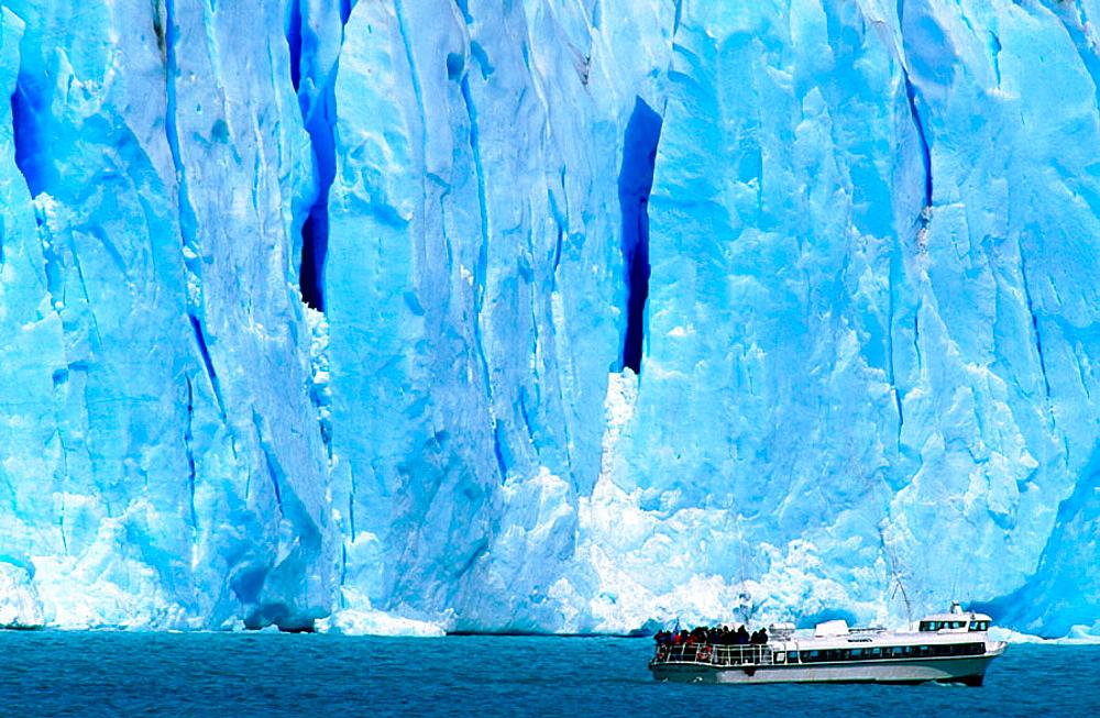 Pento Moreno glacier in Argentina