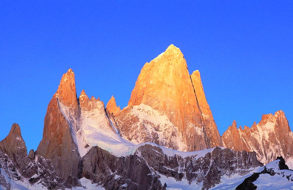 Mount Fitzroy, Los Glaciares National Park, Patagonia, Argentina