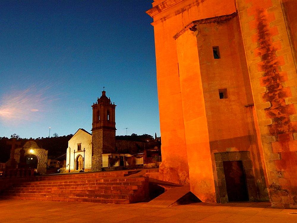 Iglesia del Carmen Tlalpujahua Mexico - 817-135755