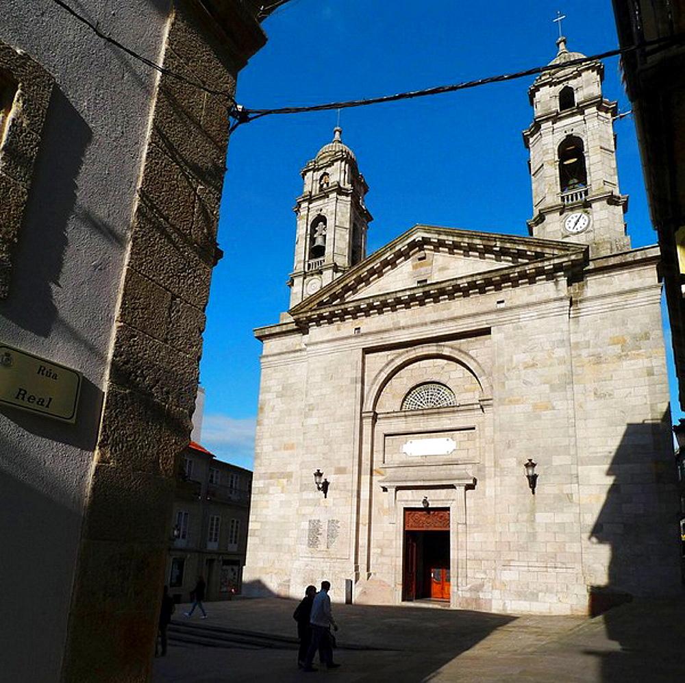Co-Cathedral, Vigo, Galicia, Spain