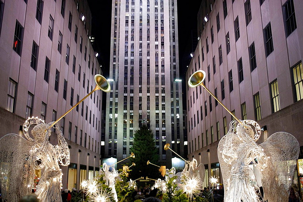 USA New York City Rockefeller Centre