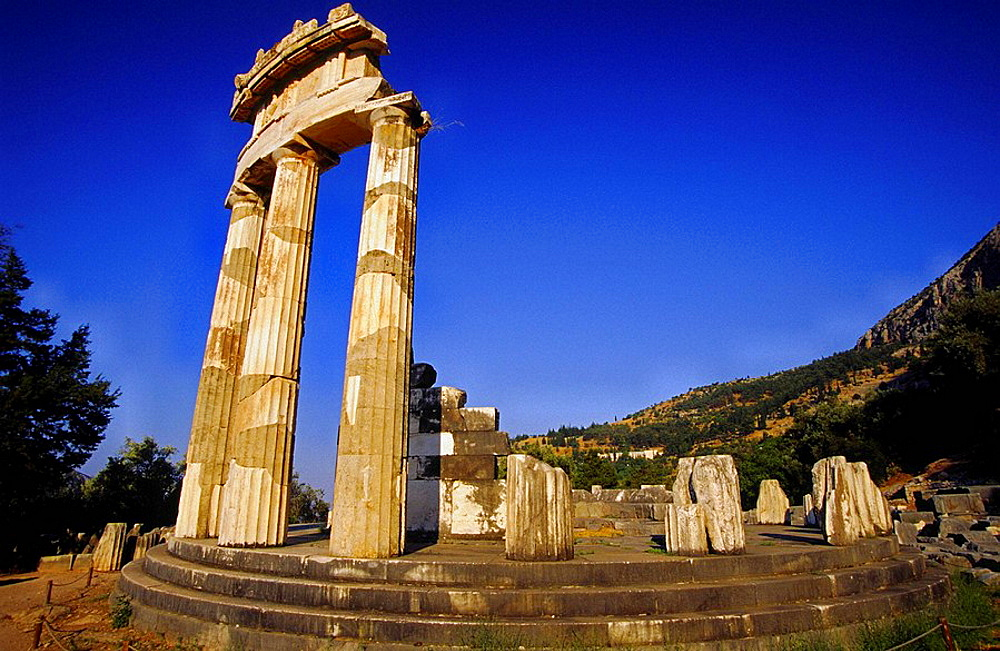 Sanctuary of Apollo, Mount Parnassus, Delphi, Greece